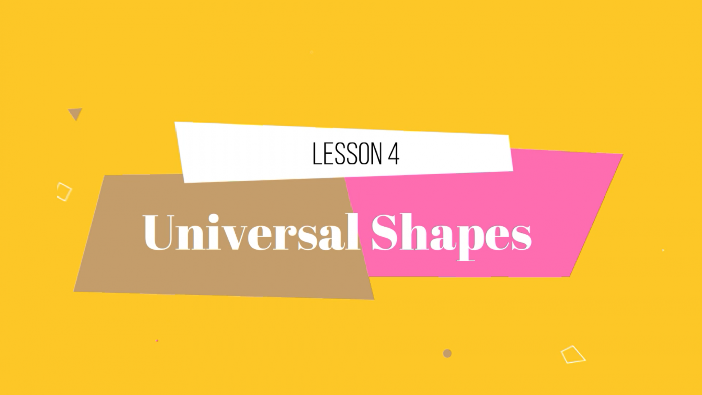 Drawing Course by Lillian Gray Lesson 4 Universal Shapes