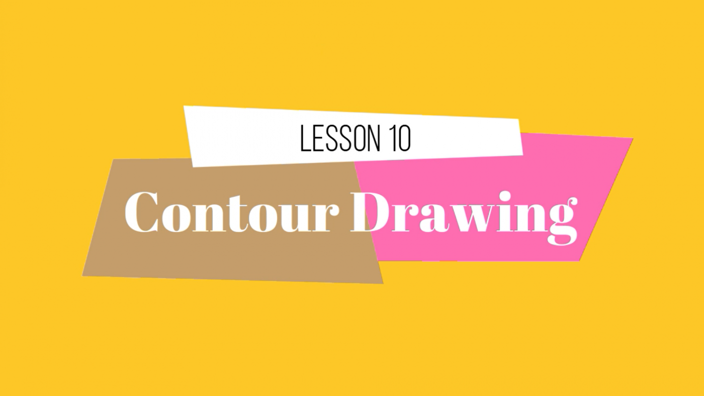 10 Lesson Contour Drawing by Lillian Gray