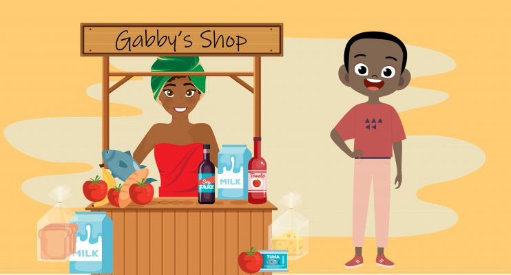 George Pemba starts a shop with Gabby