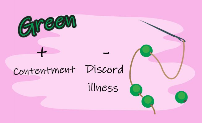 Green bead symbolic meaning