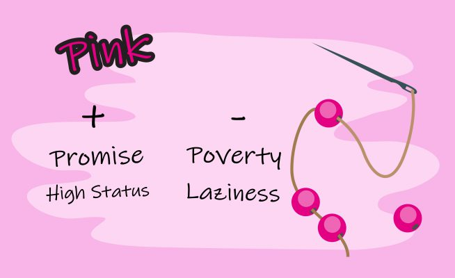 Pink bead symbolic meaning