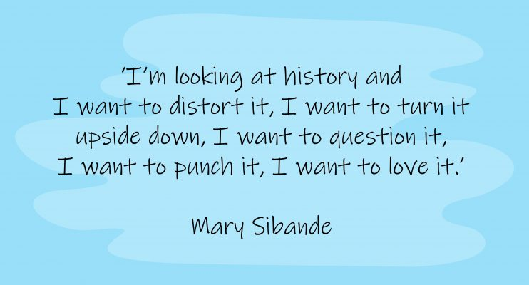 Mary Sibande's mission