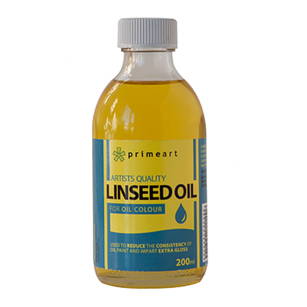 linseed oil mixing medium