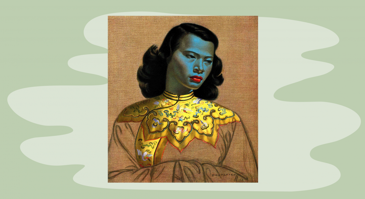 The green lady Tretchikoff