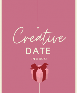 A creative date in a box Acrylic Paint Set