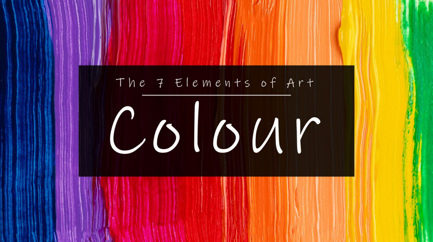 Colour The 7 Elements of Art by artists Lillian Gray