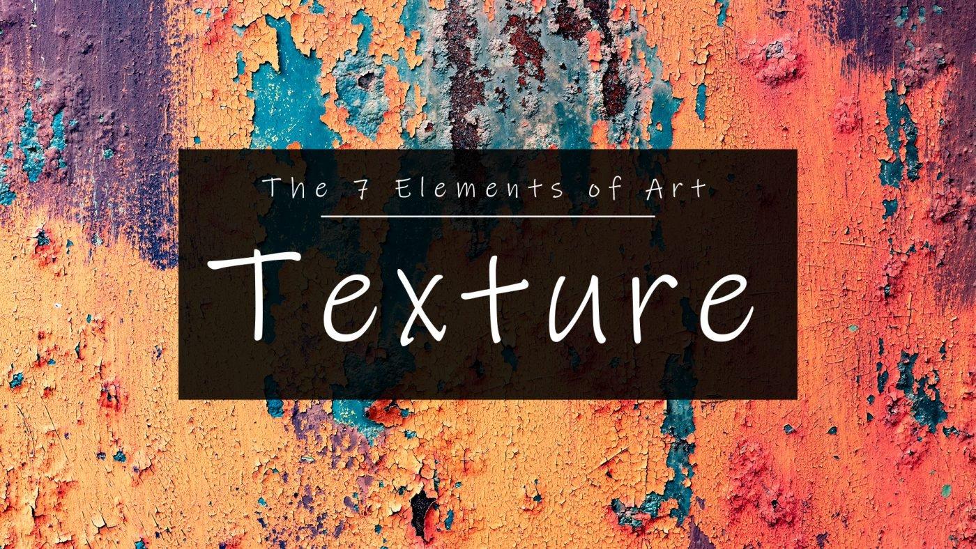 Texture 7 Elements of Art by artist Lillian Gray